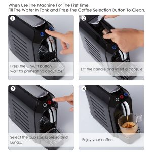 Mozeeda Mini Handheld Portable Espresso Machine Best Price