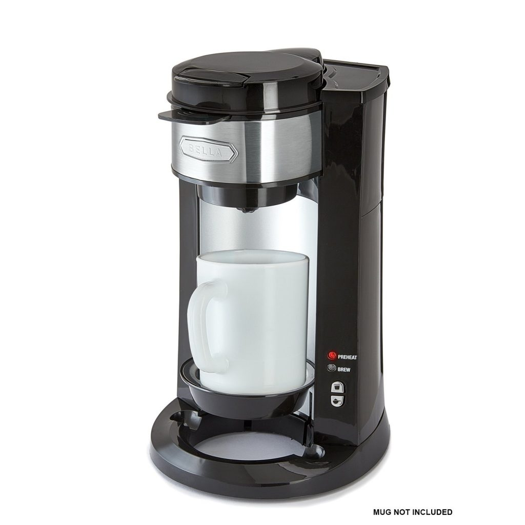 Coffee Maker Dual Brew : BELLA Dual Brew Single Serve Personal Coffee Maker - BuyMoreCoffee.com