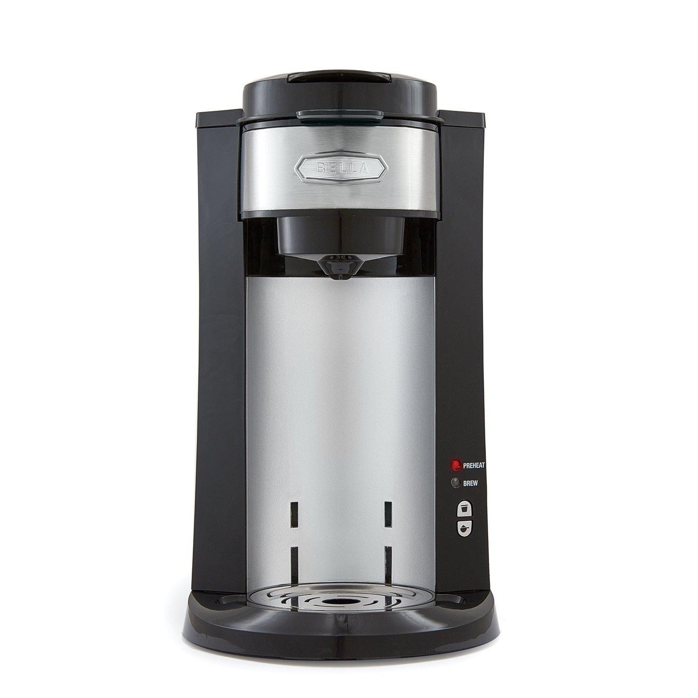 BELLA Dual Brew Single Serve Personal Coffee Maker