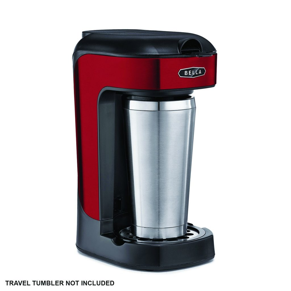 Bella Coffee Maker One Cup Reviews : Bella One Scoop One Cup Coffee Maker Best Price - Bella One Scoop One Cup Coffee Maker Review