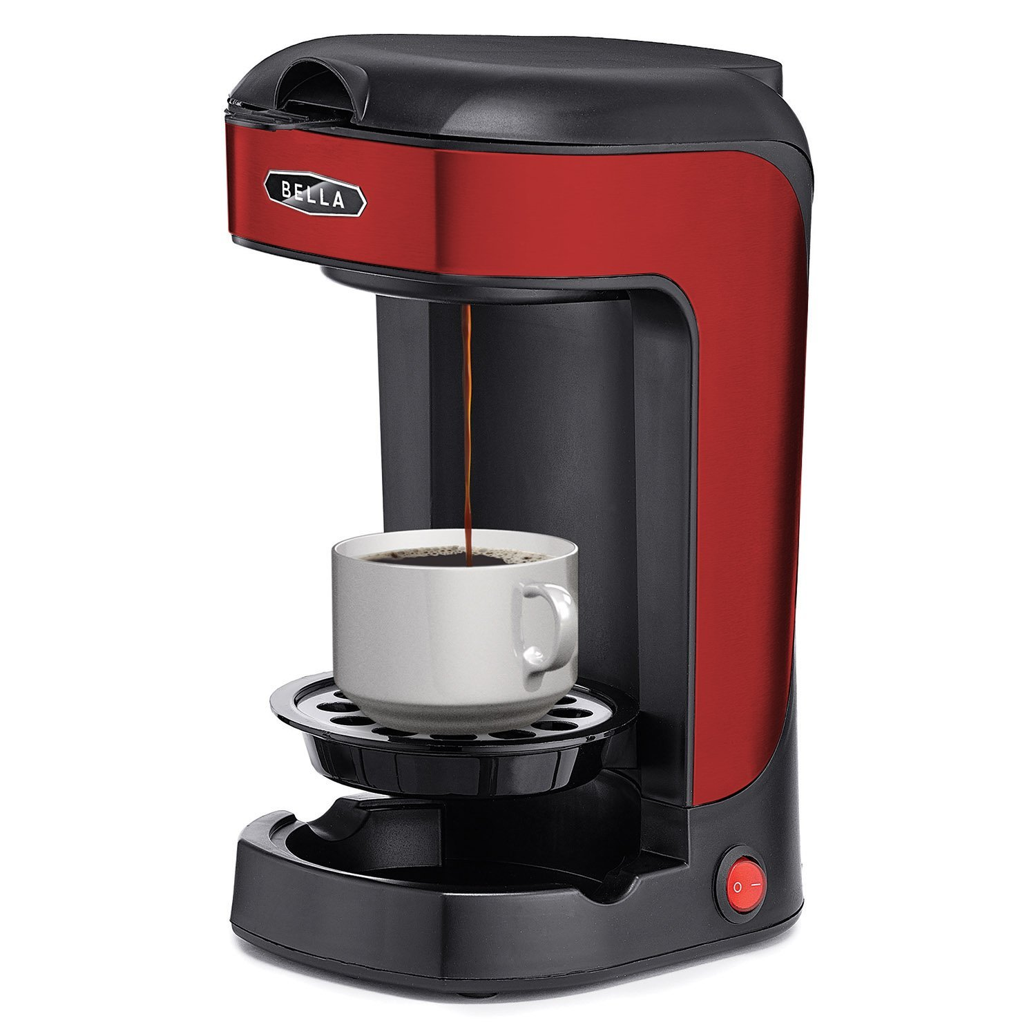 Which One Cup Coffee Maker Is The Best : Bella One Scoop One Cup Coffee Maker Best Price - Bella One Scoop One Cup Coffee Maker Review