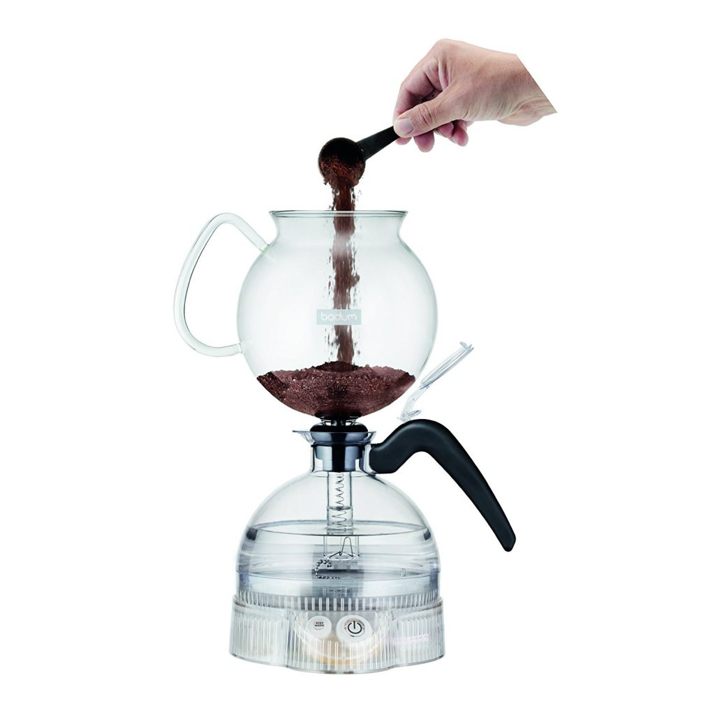 Vacuum Coffee Maker Single Cup : Bodum ePEBO Coffee Maker, Electric Vacuum Coffee Maker Best Price - Bodum ePEBO Coffee Maker ...