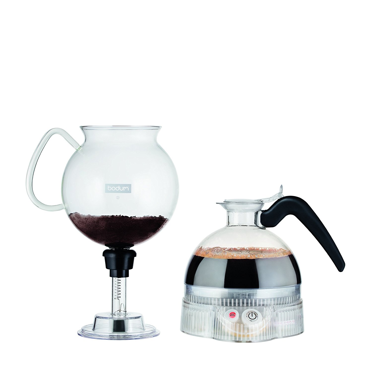 Vacuum Coffee Maker In Spanish : Bodum ePEBO Coffee Maker, Electric Vacuum Coffee Maker4 - BuyMoreCoffee.com