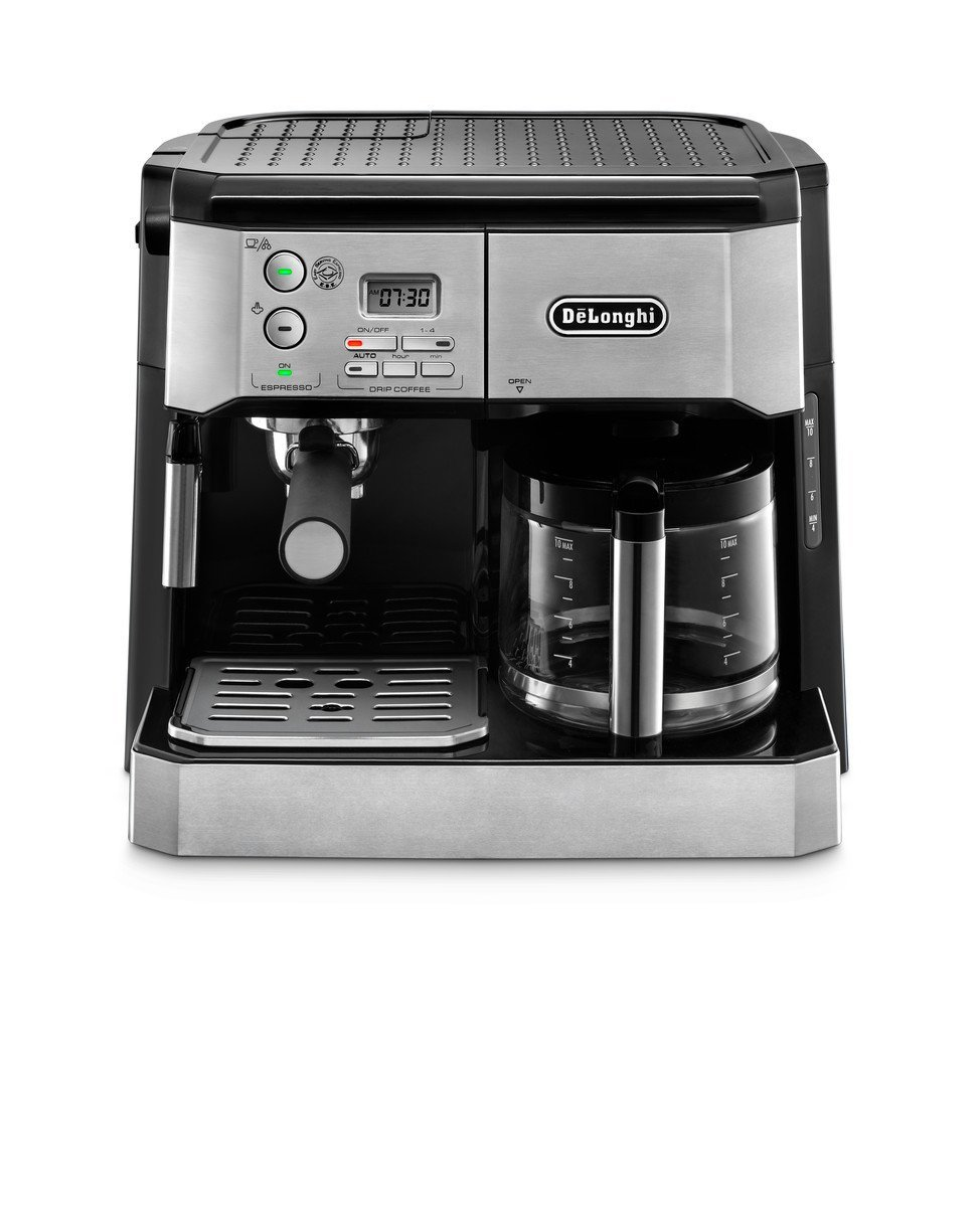 Delonghi Bco430 Combination Pump Espresso And 10 Cup Drip