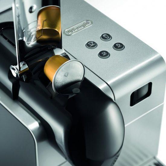 Delonghi Silver Lattissima Plus Nespresso Capsule System