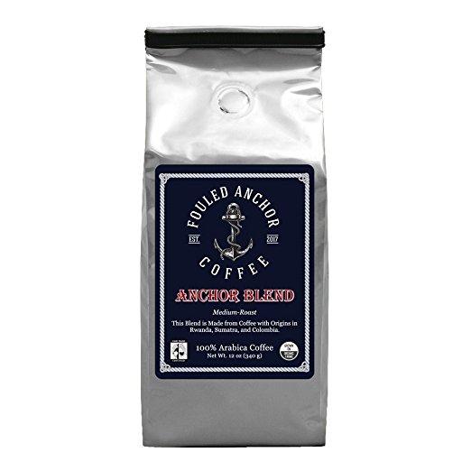Fouled Anchor Arabica Bean Medium Roast Fair Trade
