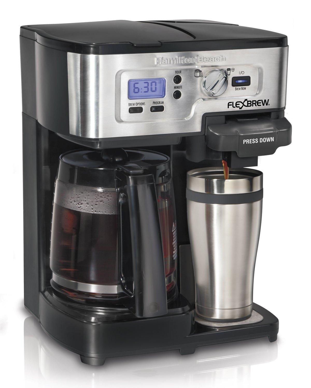 Hamilton Beach Flexbrew Single Serve Full Pot Coffee Maker