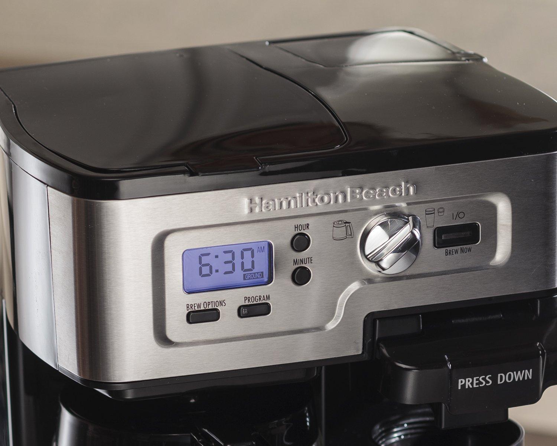 Coffee Maker Reviews Best Value : Hamilton Beach FlexBrew 49983A Single Serve Full Pot Coffee Maker Best Price - Hamilton Beach ...