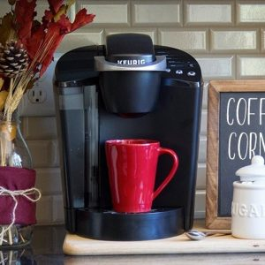 Single Serve K Cup Coffee Maker Programmable Pod Strength Control Turquoise