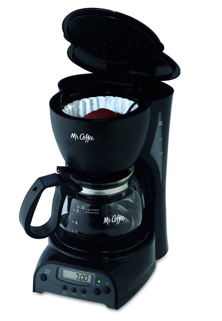 Coffee Maker Clean Button : Mr. Coffee 4-Cup Programmable Coffeemaker Best Price - Mr. Coffee 4-Cup Programmable Coffeemaker ...