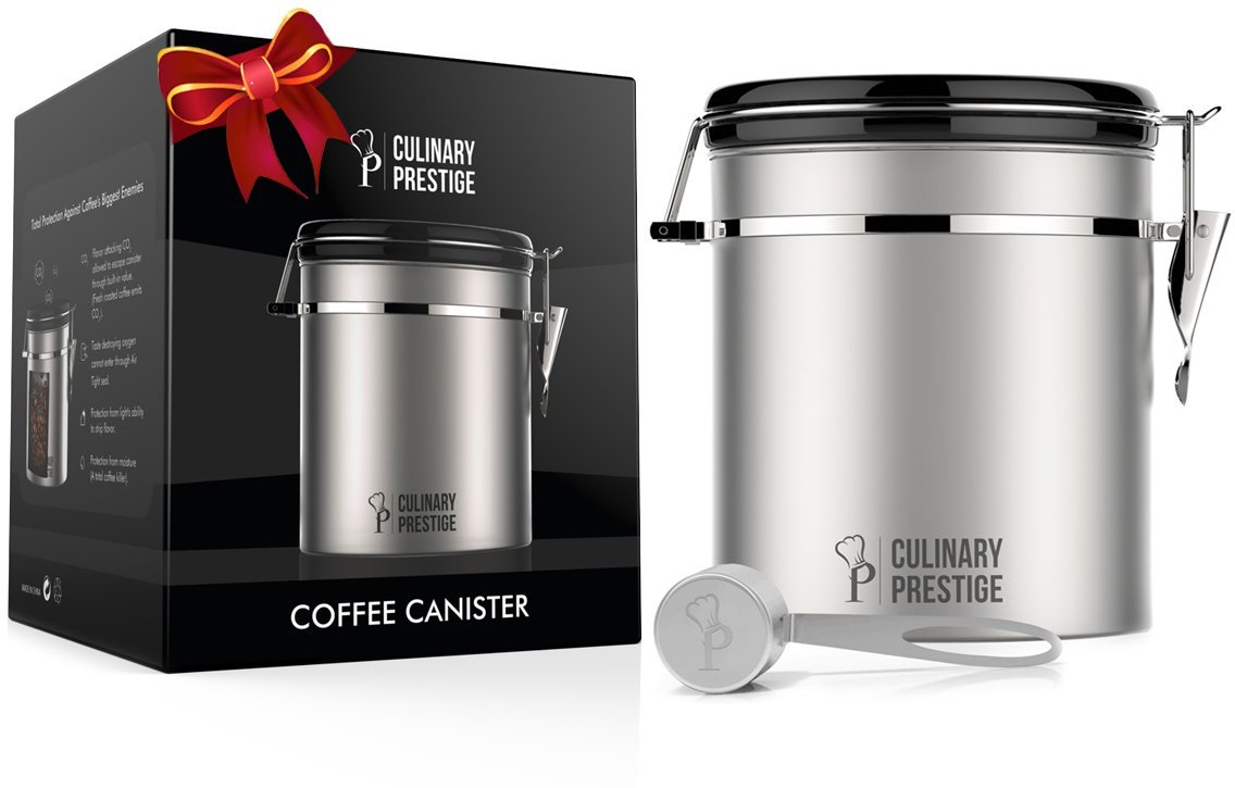 Best Stainless Steel Coffee Canister