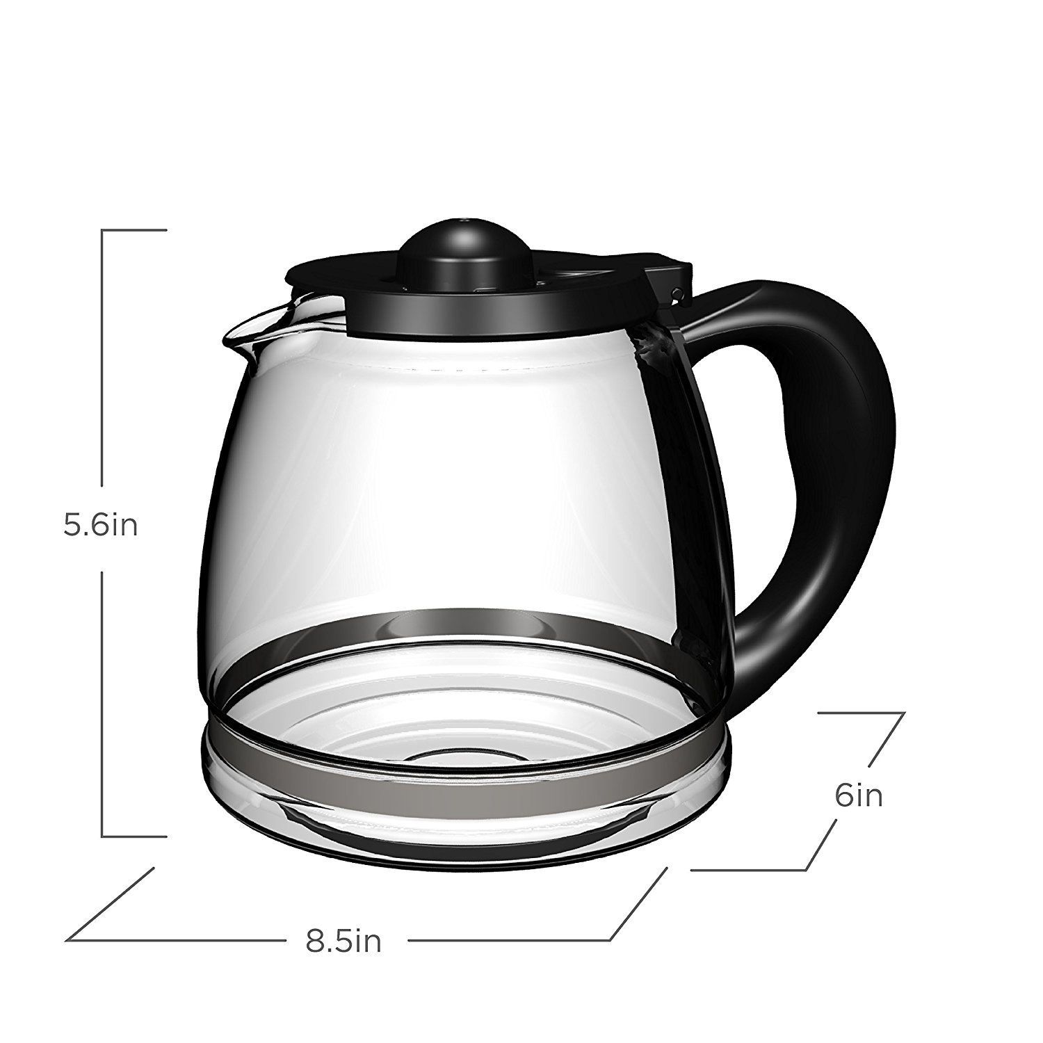 Black And Decker Coffee Maker Model Bcm1410b : BLACK+DECKER 12-Cup Replacement Carafe Best Price - BLACK+DECKER 12-Cup Replacement Carafe Review