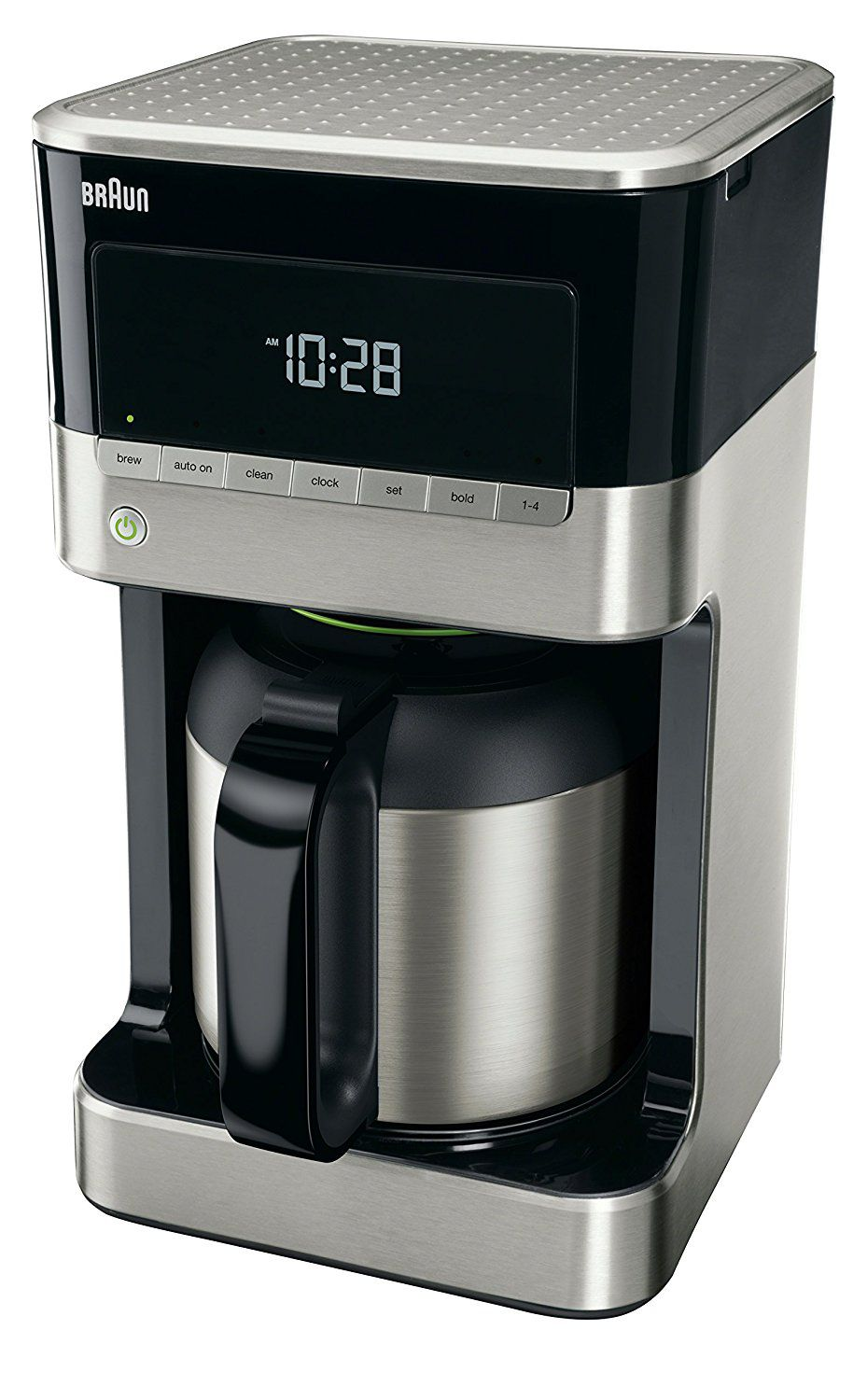 Braun KF7155BK BrewSense Thermal Drip Coffee Maker4 Best Drip Coffee Maker With Thermal Carafe