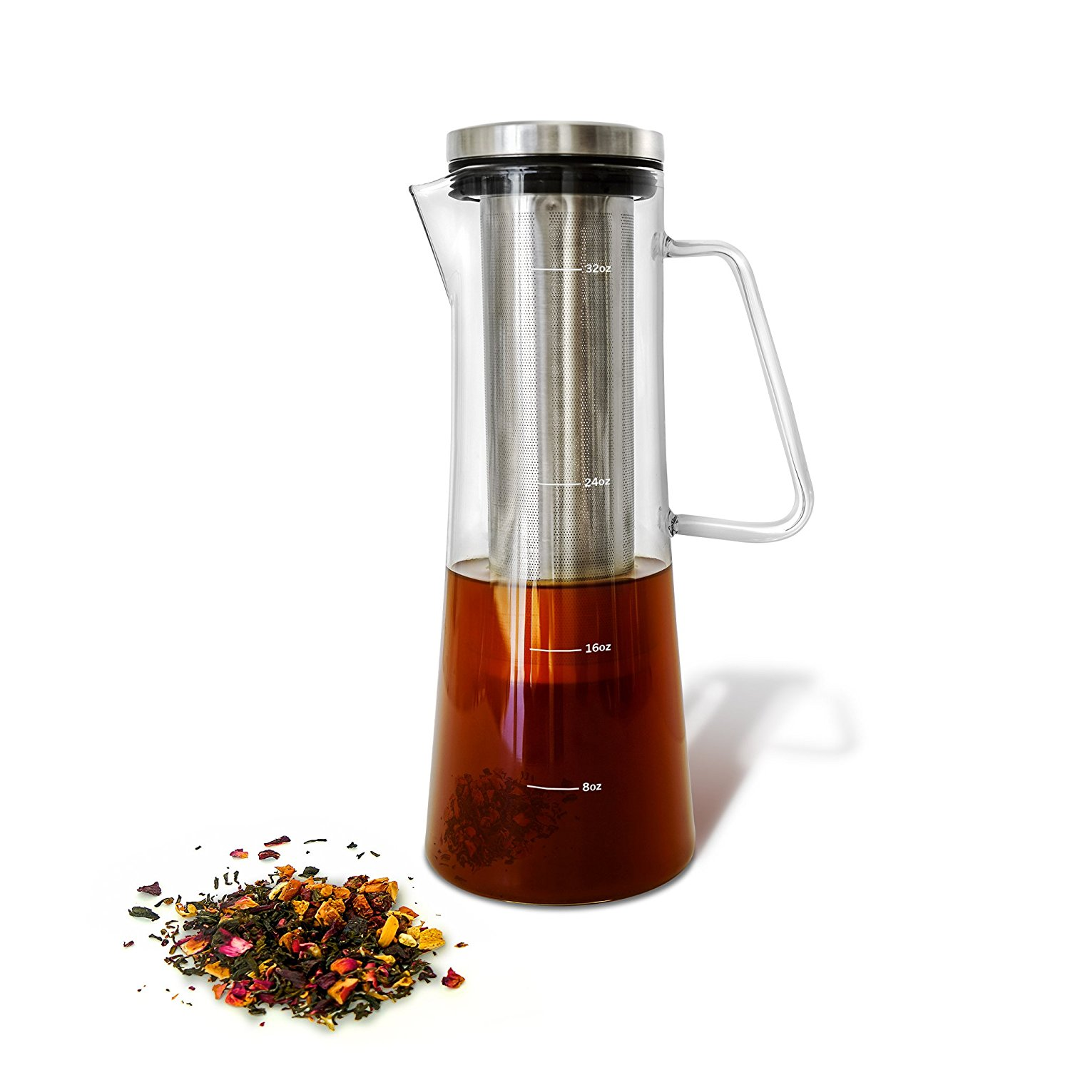 Cold Brew Iced Coffee Maker and Tea Infuser with Spout3 - BuyMoreCoffee.com