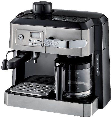 Best Coffee And Espresso Maker Combo ~ Delonghi combination drip coffee and espresso machine best