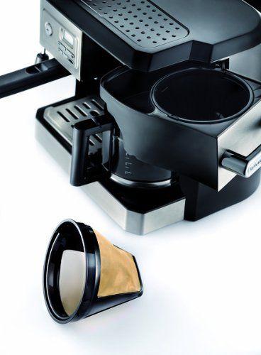 Best Espresso Coffee Maker Combo ~ Delonghi combination drip coffee and espresso machine best