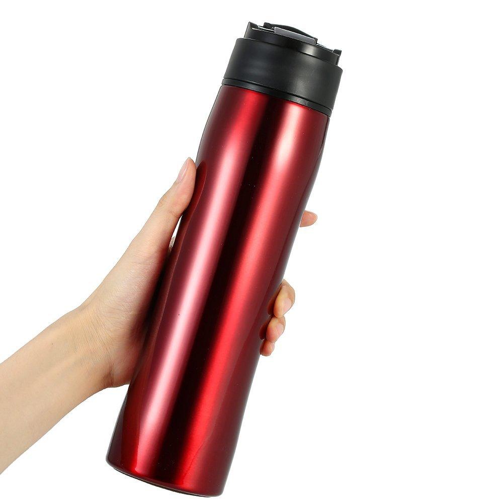 Decdeal 350ml Portable Espresso Maker Vacuum Insulated
