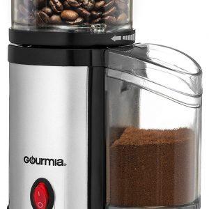 Gourmia Compact Electric Burr Coffee Grinder