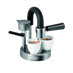 kamira moka express 1 2 cups stovetop espresso maker best. Black Bedroom Furniture Sets. Home Design Ideas