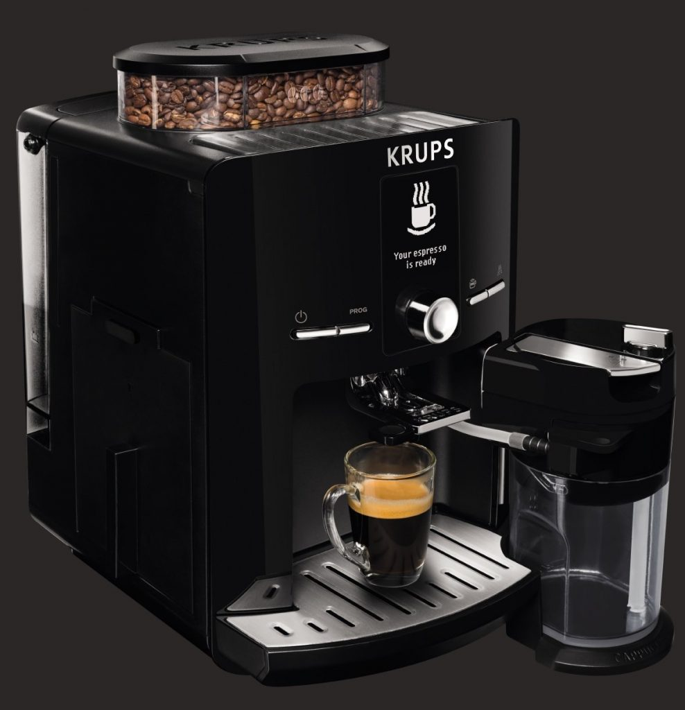 KRUPS Super Automatic Latte Espresso Compact Size Espresso Machine Best Price - KRUPS Super ...