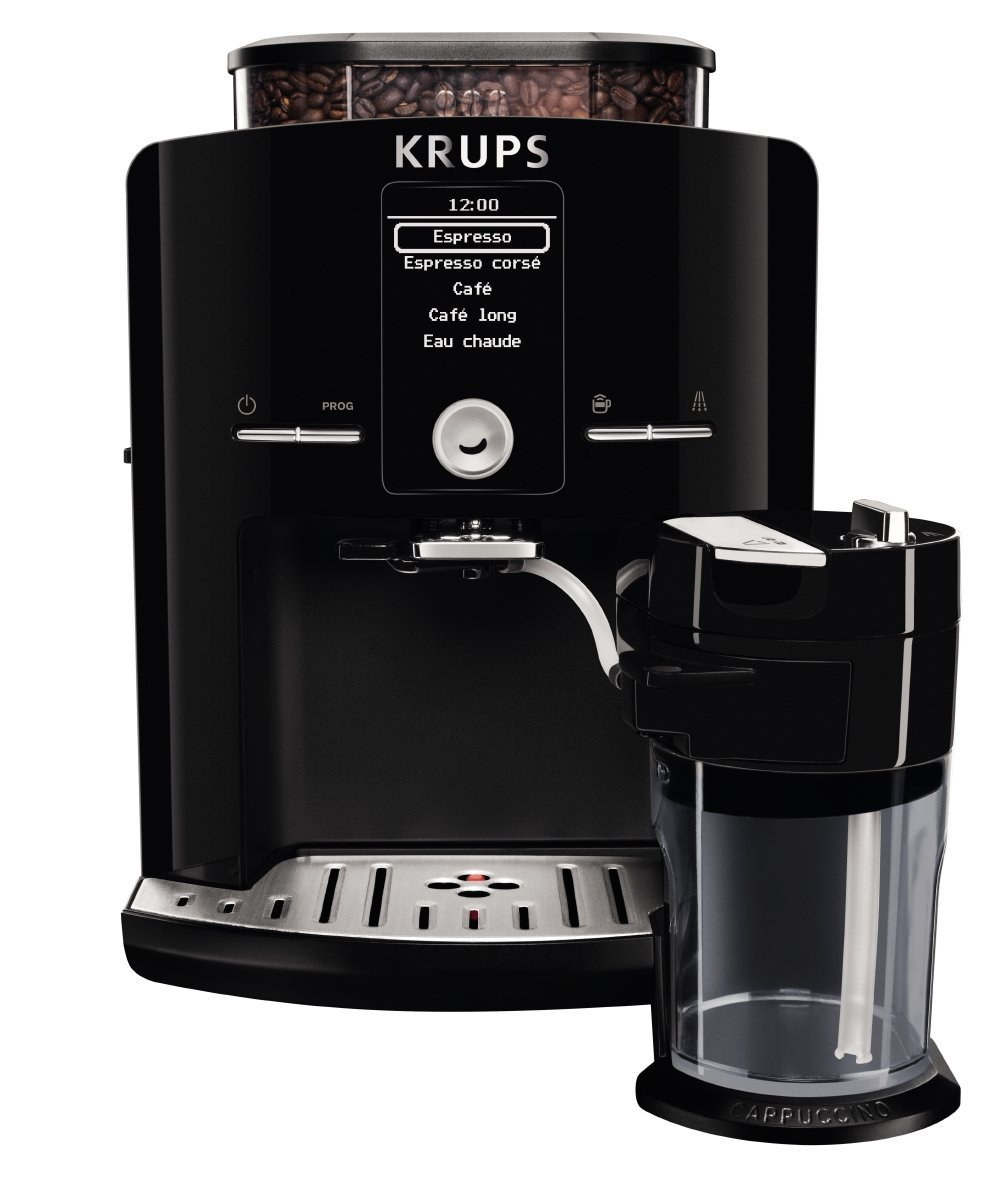 krups super automatic latte espresso compact size espresso. Black Bedroom Furniture Sets. Home Design Ideas