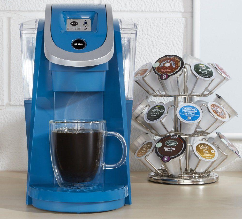 Keurig K250 Single Serve Coffee Maker Peacock Blue