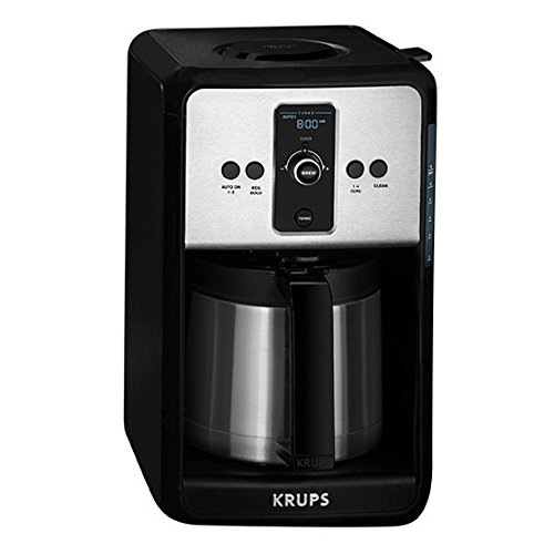 krups savoy turbo 12 cup coffee maker with thermal carafe best price review. Black Bedroom Furniture Sets. Home Design Ideas