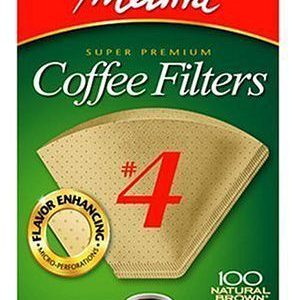 Melitta Cone Coffee Filters Natural Brown 100 Count 300x300 K Cups For Iced Coffee Mr Coffee Simple Brew  Cup Programmable Coffee Maker