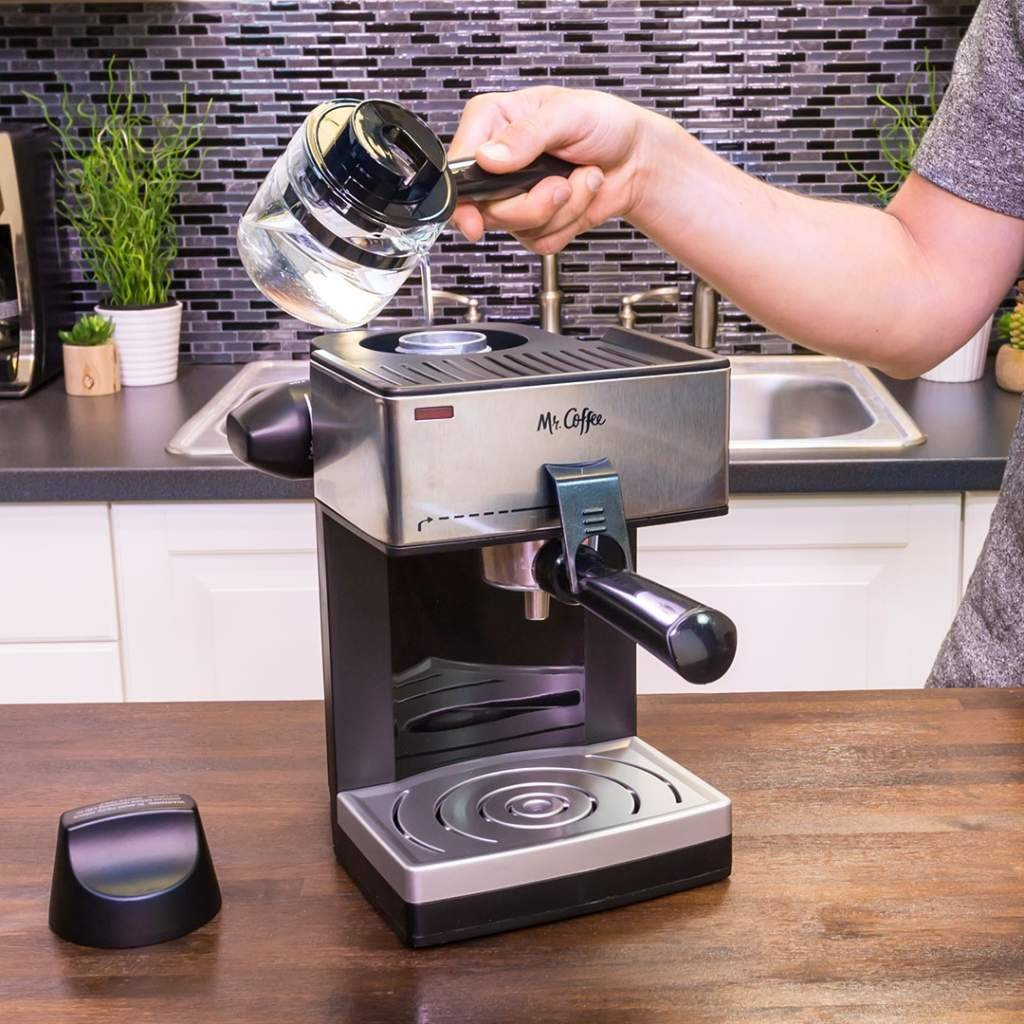 Mr Coffee 4 Cup Steam Espresso System With Milk Frother