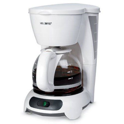 Mr. Coffee DR4-NP Coffeemaker, 4-Cup, White Best Price - Mr. Coffee DR4-NP Coffeemaker, 4-Cup ...