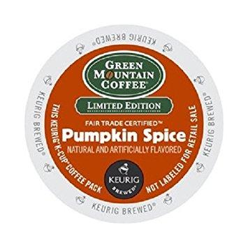 Green Mountain Pumpkin Spice Keurig K-Cup Coffee - Seasonal Selection (36 KCups)