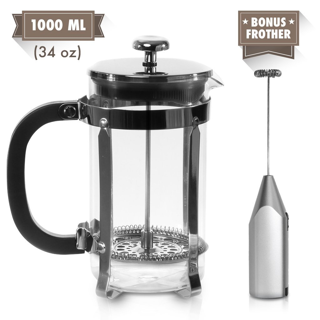 zell french press coffee maker best price review. Black Bedroom Furniture Sets. Home Design Ideas