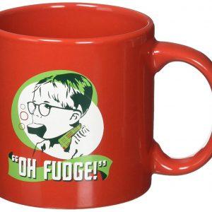 A Christmas Story Ralphie Oh Fudge Mug, Multicolor