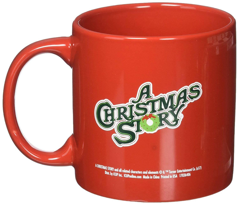 A Christmas Story Ralphie Oh Fudge Mug, Multicolor Best Price Review