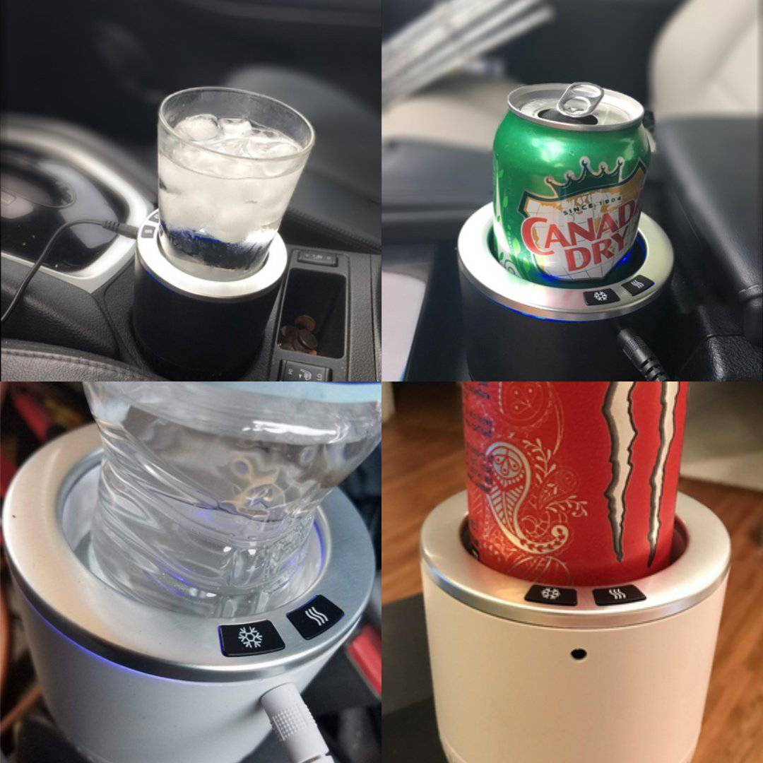 auto electric cup drink holder cooling and heating coffee