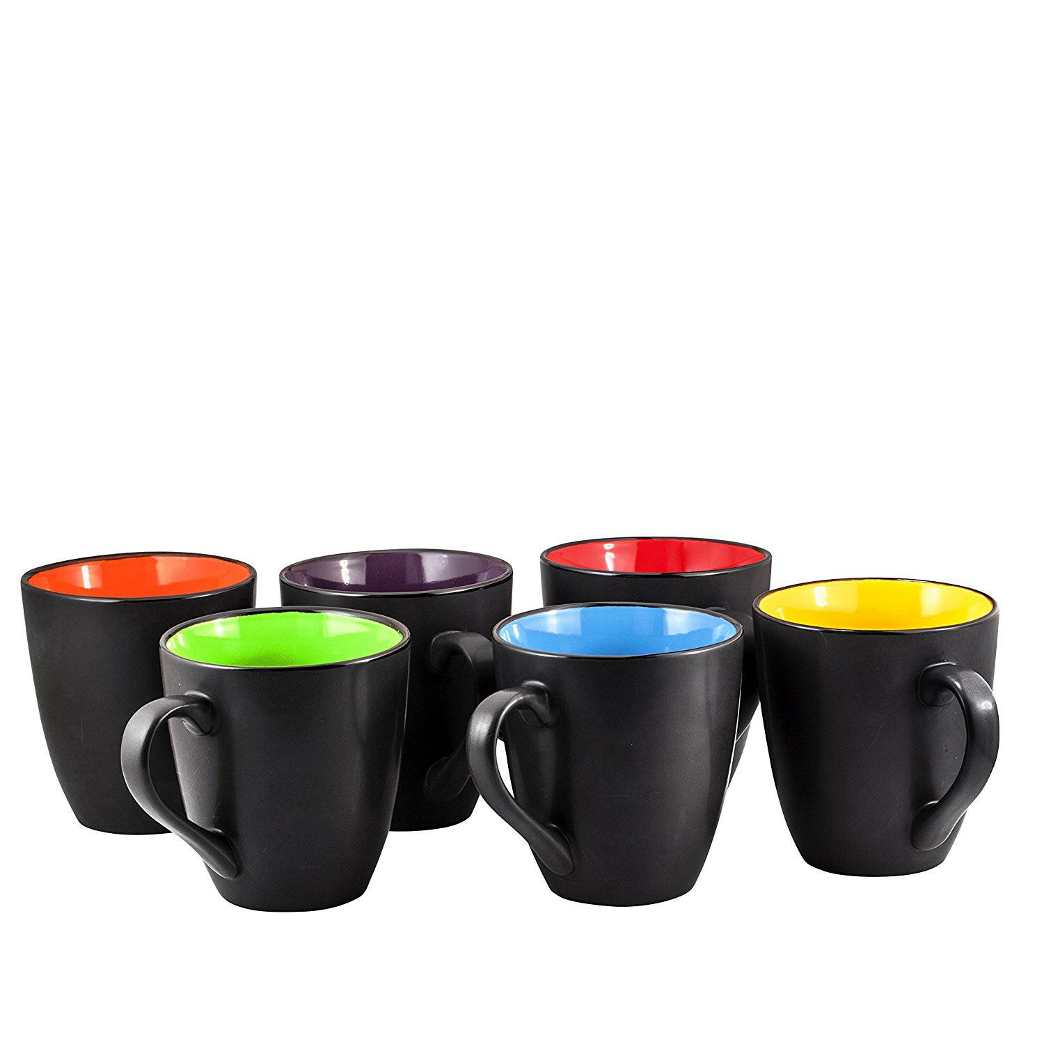 Coffee Mug Set Set of 6 Large-sized 16 Ounce Best Price Review