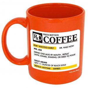 Funny Guy Mugs Prescription Ceramic Coffee Mug