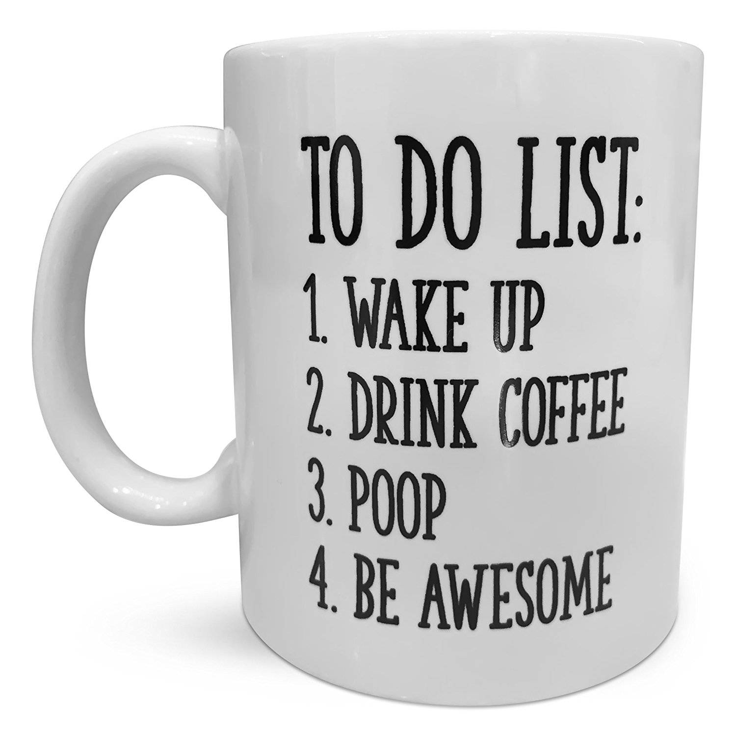 Inspirational To Do List Coffee Mug Coffee and TEA, Coffee ...