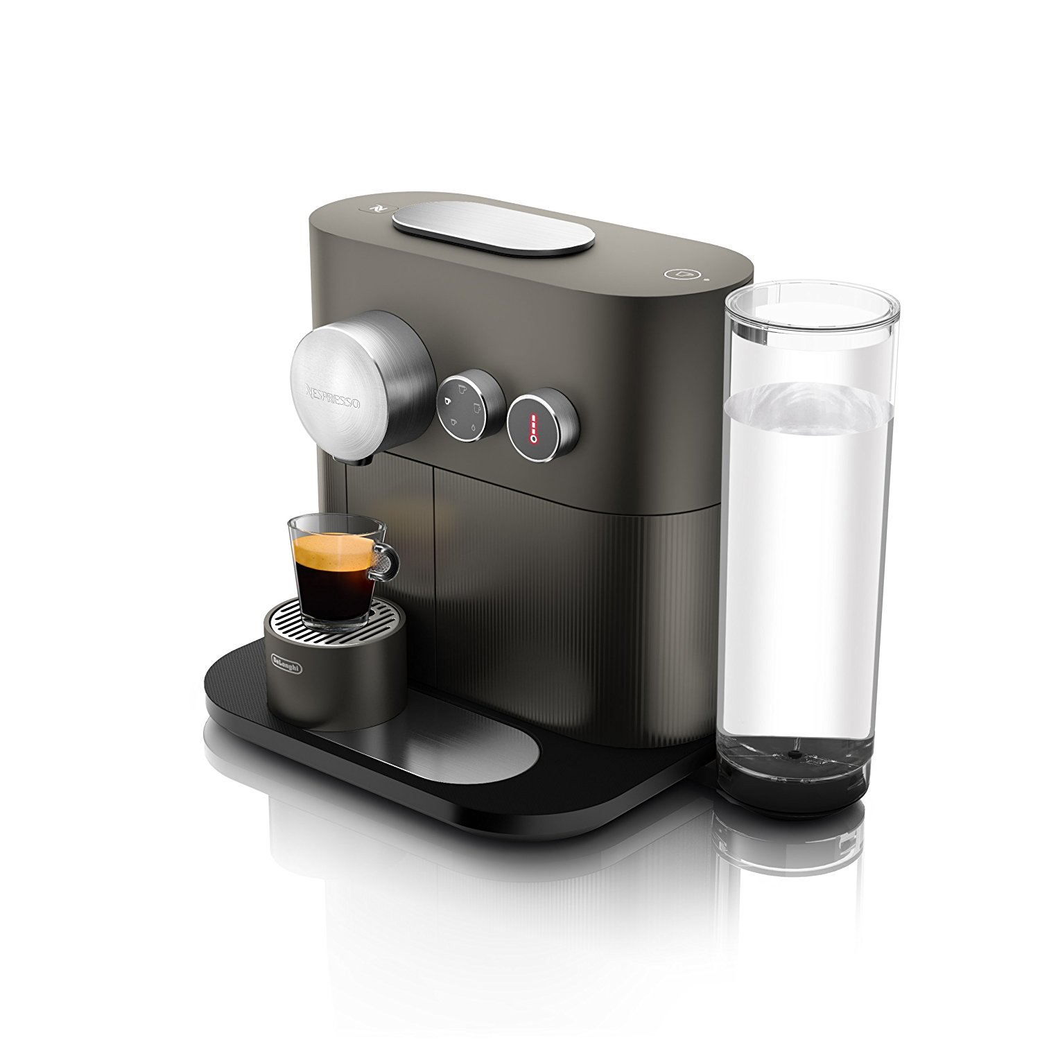 nespresso expert espresso machine by de 39 longhi with aeroccino best price review. Black Bedroom Furniture Sets. Home Design Ideas