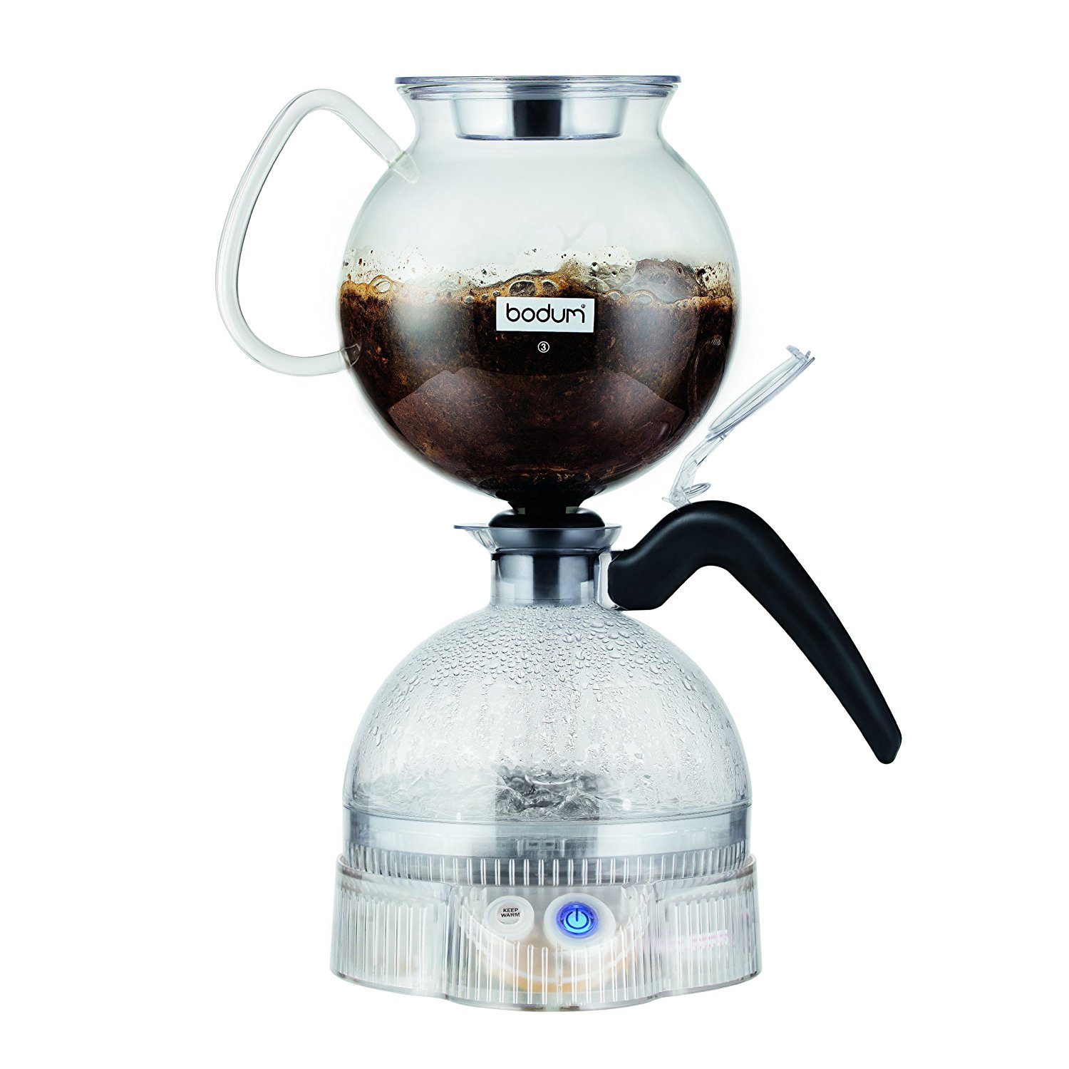 Vacuum Coffee Maker In Spanish : Bodum ePEBO Coffee Maker, Electric Vacuum Coffee Maker Best Price - Bodum ePEBO Coffee Maker ...
