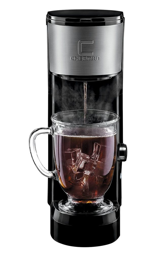 Chefman Pod Coffee Maker K Cup InstaBrew Brewer 655x1024 How Many Scoops Of Coffee For  Cups Coffee Maker