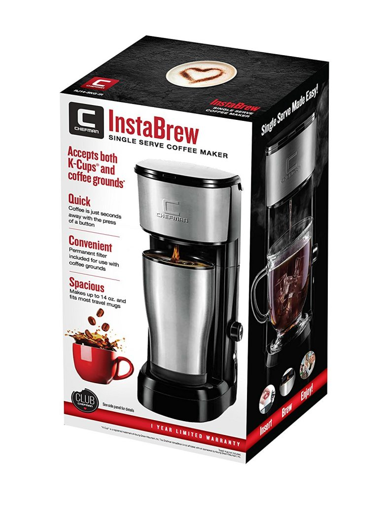 Coffee Maker Reviews Pod : Chefman Pod Coffee Maker K-Cup InstaBrew Brewer Best Price - Chefman Pod Coffee Maker K-Cup ...