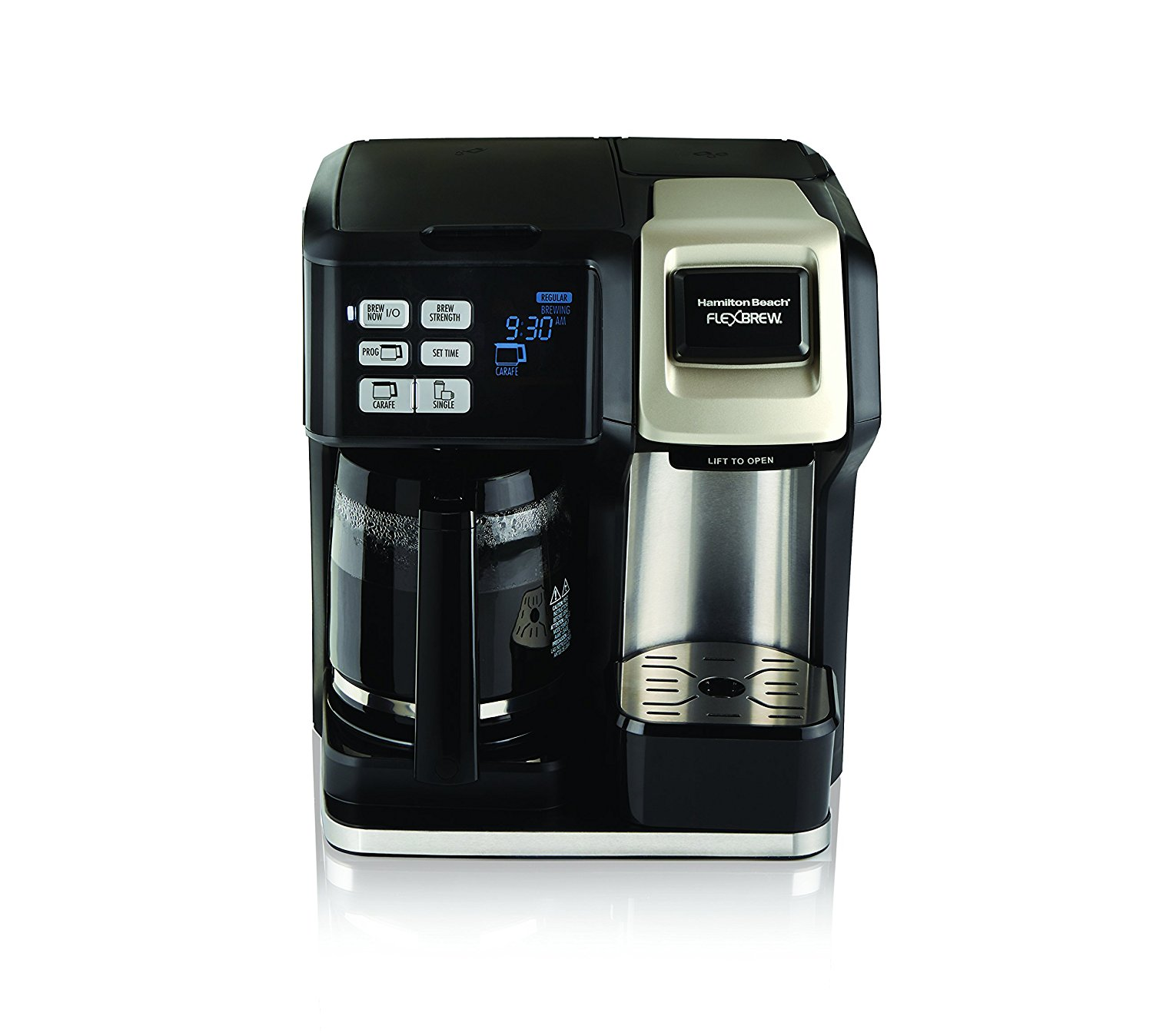 Best Value Coffee Maker Reddit : Hamilton Beach 49950C Flexbrew 2-Way Brewer Programmable Coffee Maker Best Price - Hamilton ...