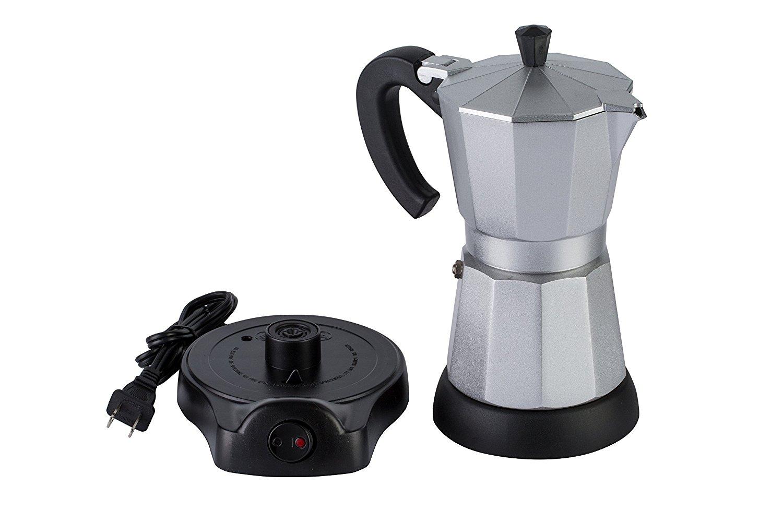 Electric Espresso Coffee Maker ~ Mandarin gear cup electric espresso coffee moka