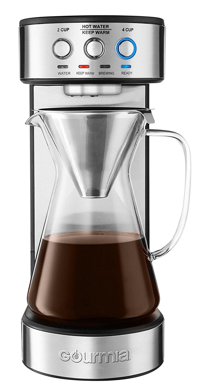 Gourmia Gcm4900 Automatic Pour Over Coffee Maker Best