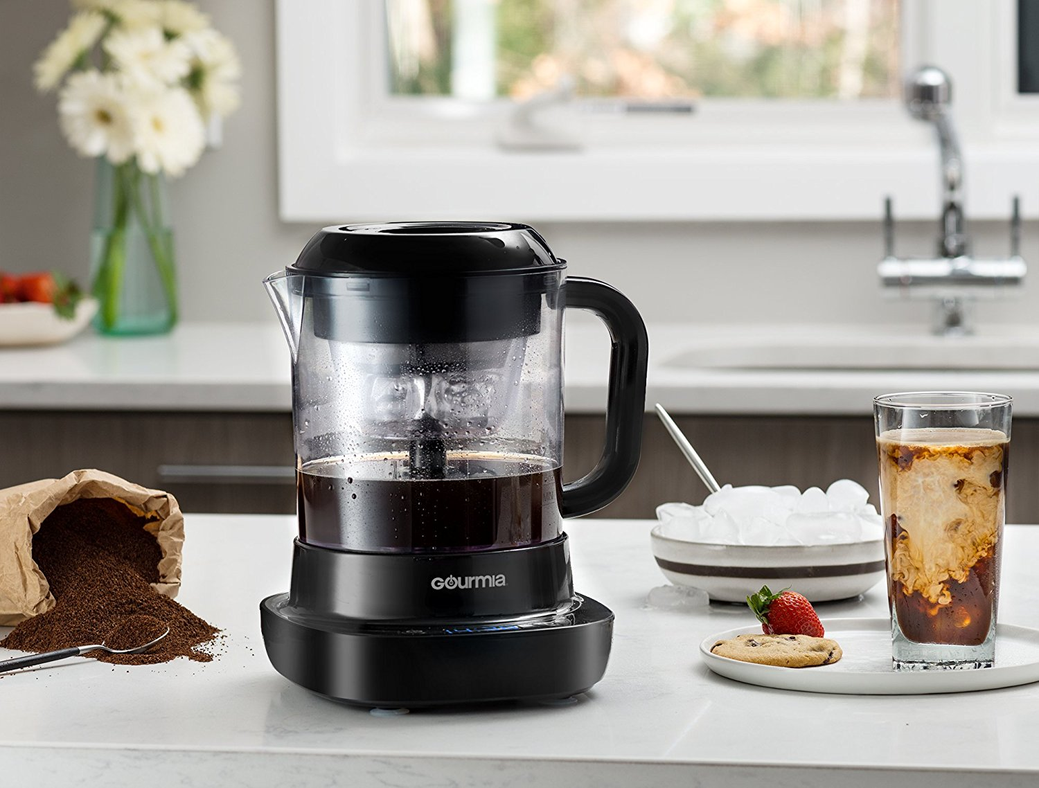 Gourmia Gcm6800 Automatic Cold Brew Coffee Maker 10 Minutes Fast