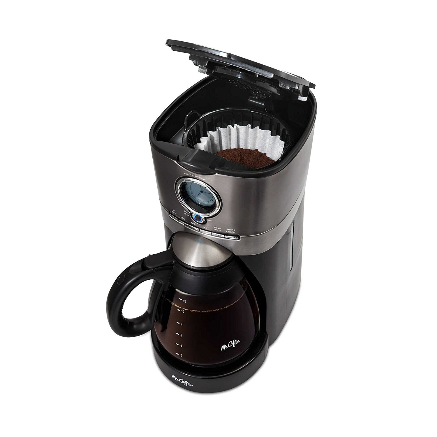 Coffee Espresso Makers Review ~ Mr ffee cup programmable automatic coffee maker in