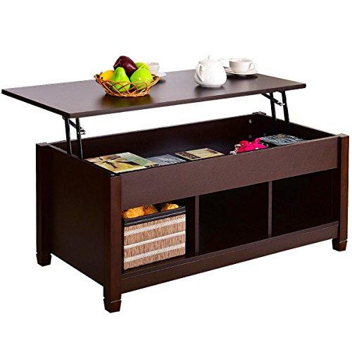 Wood Lift Top Coffee Tables: Tangkula Lift Top Coffee Table Modern Living Room