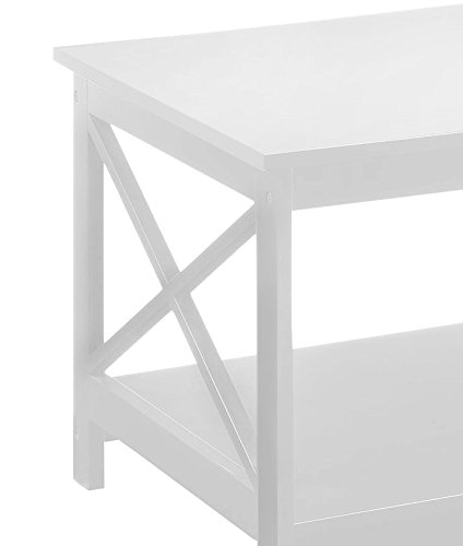 Tremendous Convenience Concepts Oxford Coffee Table White Caraccident5 Cool Chair Designs And Ideas Caraccident5Info