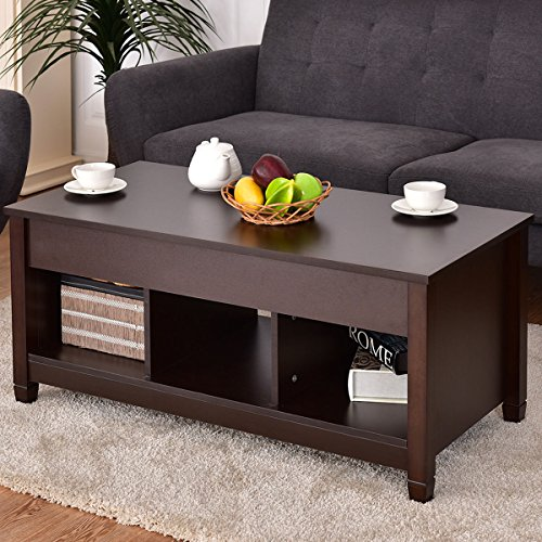 Tangkula Lift Top Coffee Table Modern Living Room Furniture Best Price Review